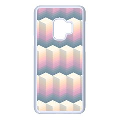 Seamless Pattern Background Block Samsung Galaxy S9 Seamless Case(white)