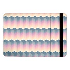Seamless Pattern Background Block Pink Samsung Galaxy Tab Pro 10 1  Flip Case by HermanTelo