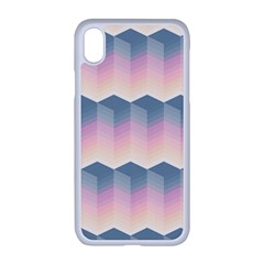 Seamless Pattern Background Block Pink Iphone Xr Seamless Case (white)
