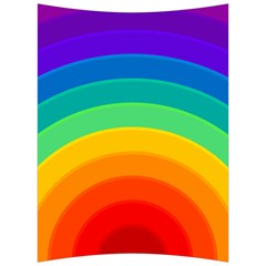 Rainbow Background Colorful Back Support Cushion