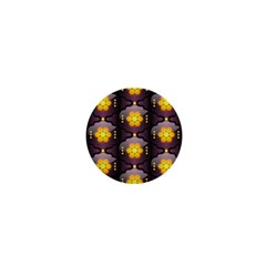 Pattern Background Yellow Bright 1  Mini Buttons by HermanTelo