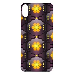 Pattern Background Yellow Bright Iphone X/xs Soft Bumper Uv Case