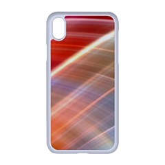 Wave Background Pattern Abstract Iphone Xr Seamless Case (white)