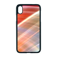 Wave Background Pattern Abstract Iphone Xr Seamless Case (black)