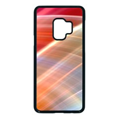 Wave Background Pattern Abstract Samsung Galaxy S9 Seamless Case(black)