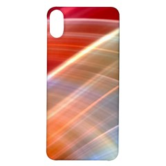 Wave Background Pattern Abstract Iphone X/xs Soft Bumper Uv Case