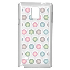 Seamless Pattern Pastels Background Pink Samsung Galaxy Note 4 Case (white)