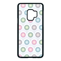 Seamless Pattern Pastels Background Pink Samsung Galaxy S9 Seamless Case(black)