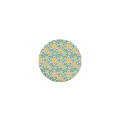 Seamless Pattern Floral Pastels 1  Mini Buttons by HermanTelo