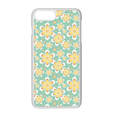 Seamless Pattern Floral Pastels Iphone 8 Plus Seamless Case (white)
