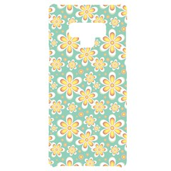Seamless Pattern Floral Pastels Samsung Note 9 Black Uv Print Case  by HermanTelo
