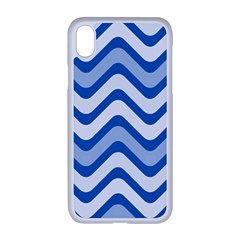 Waves Wavy Lines Iphone Xr Seamless Case (white)