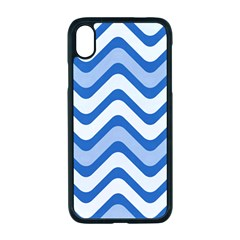 Waves Wavy Lines Iphone Xr Seamless Case (black)