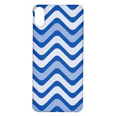 Waves Wavy Lines Iphone X/xs Soft Bumper Uv Case