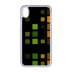 Abstract Plaid Iphone Xr Seamless Case (white)