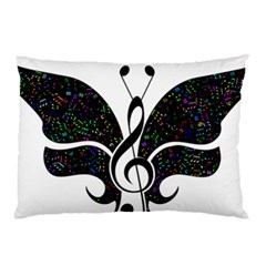 Butterfly Music Animal Audio Bass Pillow Case (two Sides)