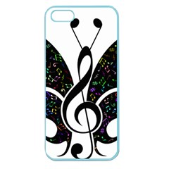Butterfly Music Animal Audio Bass Apple Seamless Iphone 5 Case (color) by HermanTelo