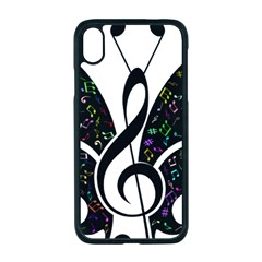 Butterfly Music Animal Audio Bass Iphone Xr Seamless Case (black)