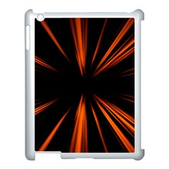 Abstract Light Apple Ipad 3/4 Case (white) by HermanTelo