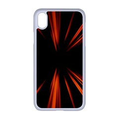 Abstract Light Iphone Xr Seamless Case (white)