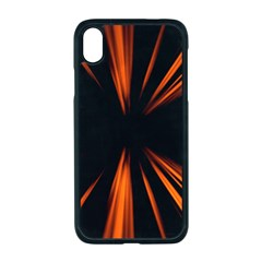 Abstract Light Iphone Xr Seamless Case (black)