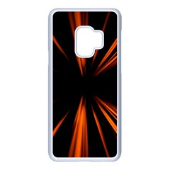 Abstract Light Samsung Galaxy S9 Seamless Case(white)