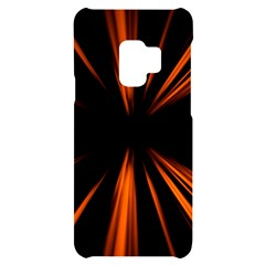 Abstract Light Samsung S9 Black Uv Print Case by HermanTelo