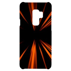 Abstract Light Samsung S9 Plus Black Uv Print Case by HermanTelo