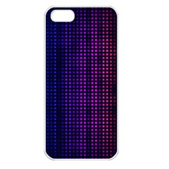Abstract Background Plaid Iphone 5 Seamless Case (white)