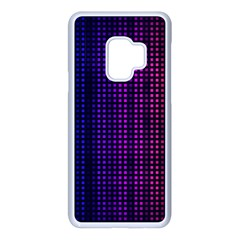 Abstract Background Plaid Samsung Galaxy S9 Seamless Case(white)