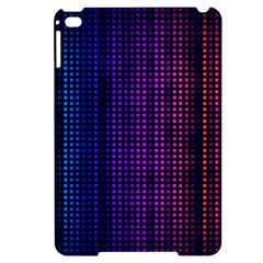 Abstract Background Plaid Apple Ipad Mini 4 Black Uv Print Case by HermanTelo