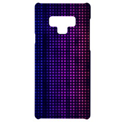 Abstract Background Plaid Samsung Note 9 Black Uv Print Case  by HermanTelo