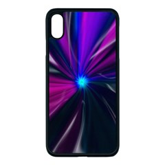 Abstract Background Lightning Iphone Xs Max Seamless Case (black)