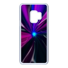 Abstract Background Lightning Samsung Galaxy S9 Seamless Case(white) by HermanTelo