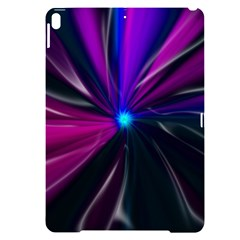Abstract Background Lightning Apple Ipad Pro 10 5   Black Uv Print Case