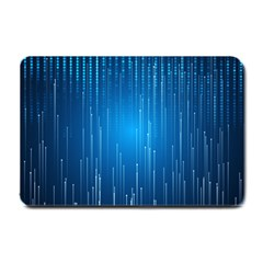 Abstract Line Space Small Doormat