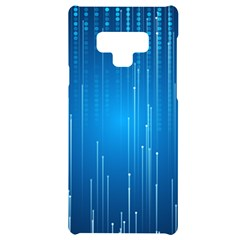 Abstract Line Space Samsung Note 9 Black Uv Print Case  by HermanTelo