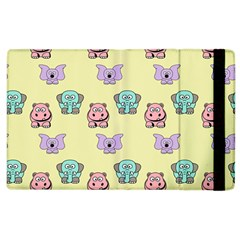 Animals Pastel Children Colorful Apple Ipad 2 Flip Case by HermanTelo