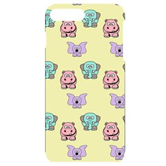 Animals Pastel Children Colorful Iphone 7/8 Plus Black Uv Print Case
