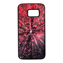 Abstract Background Wallpaper Space Samsung Galaxy S7 Black Seamless Case