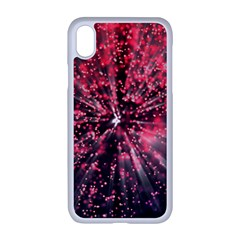 Abstract Background Wallpaper Space Iphone Xr Seamless Case (white)