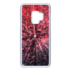 Abstract Background Wallpaper Space Samsung Galaxy S9 Seamless Case(white)