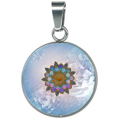 Wonderful Mandala 20mm Round Necklace by FantasyWorld7