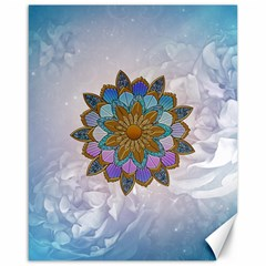 Wonderful Mandala Canvas 16  X 20  by FantasyWorld7