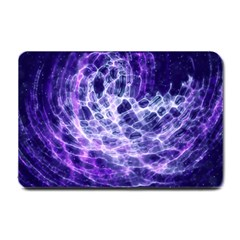 Abstract Background Space Small Doormat  by HermanTelo