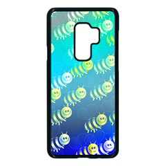 Animal Bee Samsung Galaxy S9 Plus Seamless Case(black) by HermanTelo