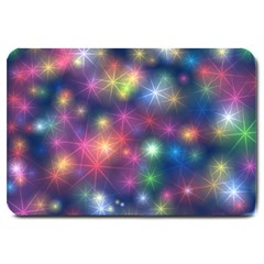 Abstract Background Graphic Space Large Doormat  by HermanTelo