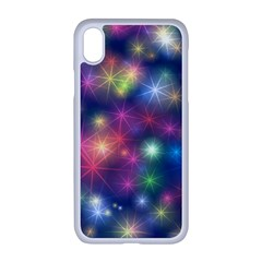 Abstract Background Graphic Space Iphone Xr Seamless Case (white)