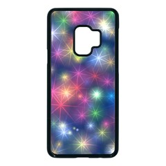 Abstract Background Graphic Space Samsung Galaxy S9 Seamless Case(black)