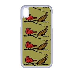 Bird Animal Nature Wild Wildlife Iphone Xr Seamless Case (white)
